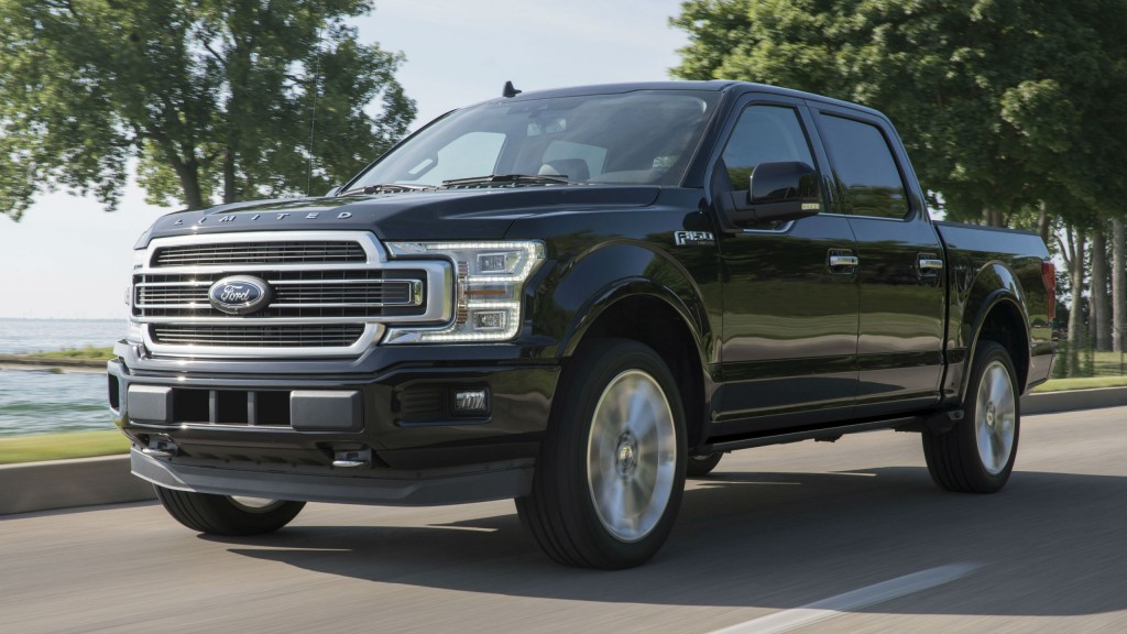 The Ford F-150 Limited offers drivers 450 horsepower in an upscale package.