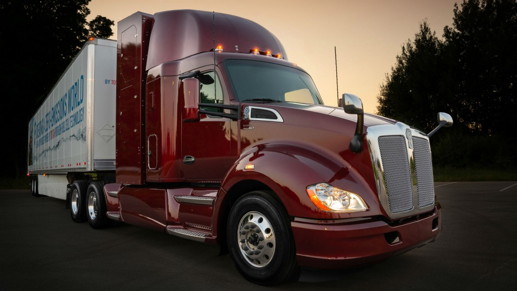 Toyota's Project Portal 2.0 hydrogen fuel cell electric powered Class 8 truck has been revealed.