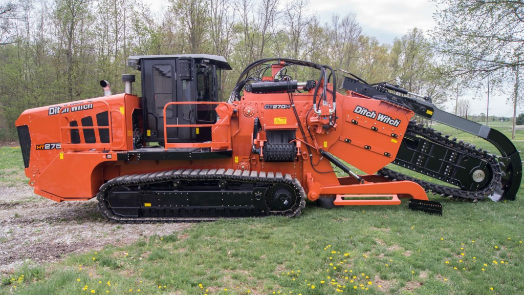 Heavy-duty trencher from Ditch Witch offers purpose-built