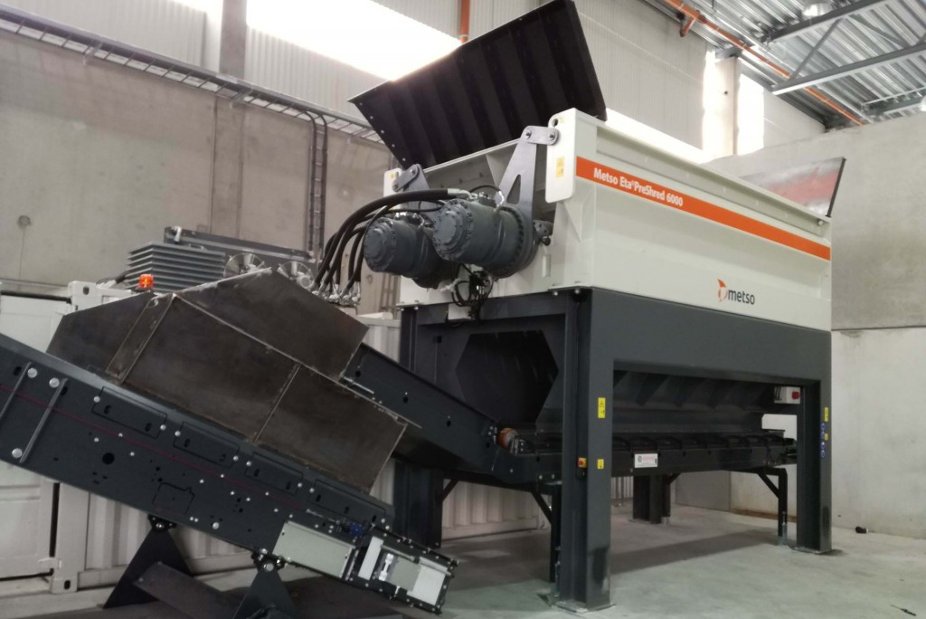 Metso Outotec - M&J PreShred 6000 Stationary Shredders