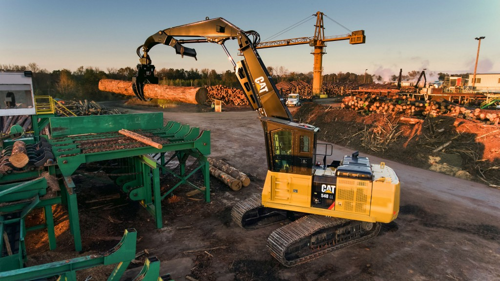Cat's new 548 and 548 LL forestry machines are designed to improve efficiency and save owners money.