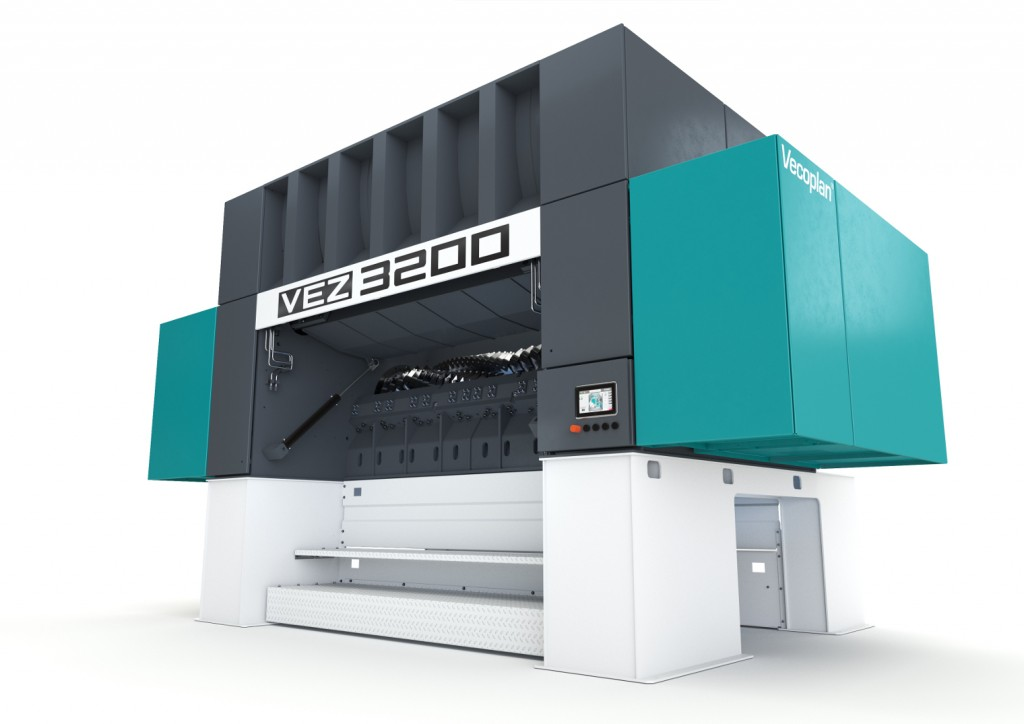 With the VEZ 3200, Vecoplan has developed a powerful single-shaft pre-shredder with high throughput capacity.