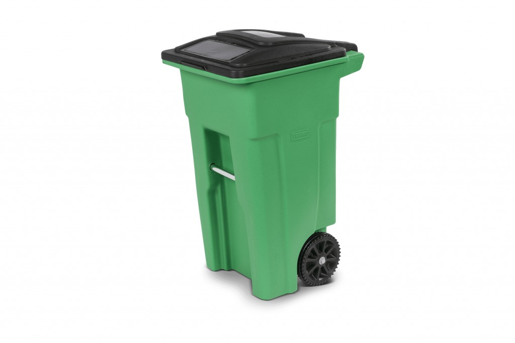 Toter - Toter® Two-wheel Organic Cart Recycling Carts & Containers