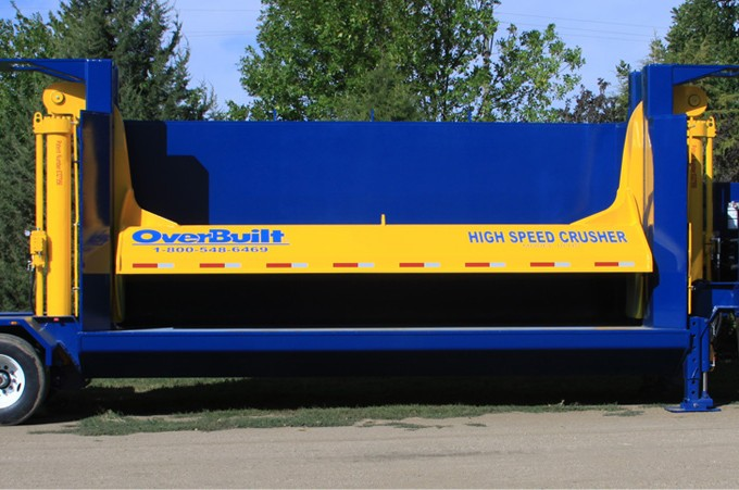 OverBuilt Holdings, LLC - Model 10 HS Auto Recycling Equipment