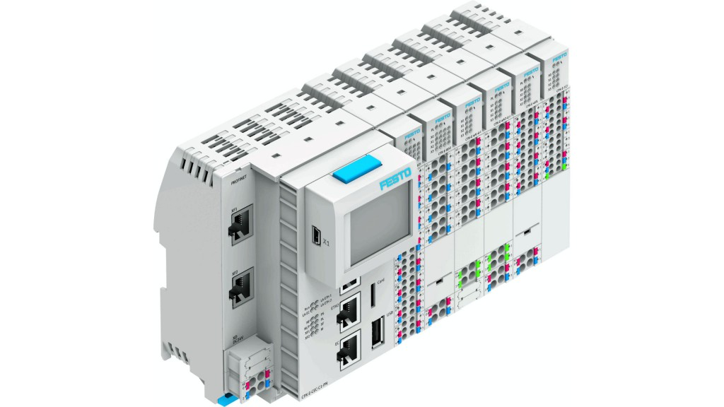 Compact modular control system from Festo