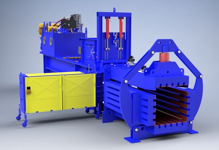 "International Baler introduces first ""European Style"" Auto-Tie made in the USA"