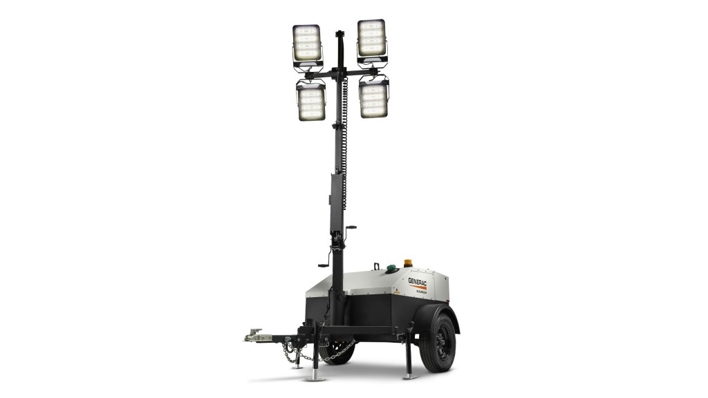 Generac LED light towers designed for remote locations and extreme environments