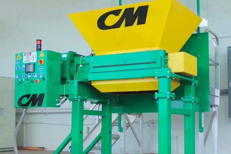 CM Shredders - CM-H10 Tire Shredders