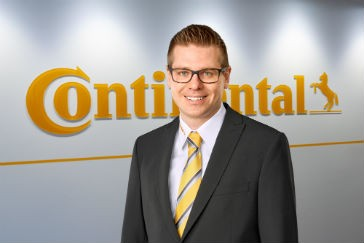 Continental Commercial Specialty Tires names new head of sales and marketing for the Americas