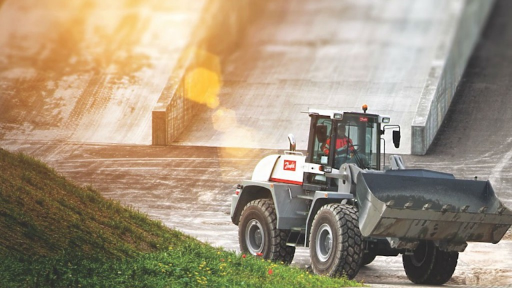 Wheel loader systems from Danfoss can improve performance and efficiency.
