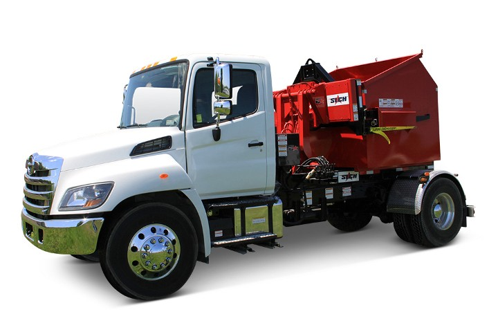 Galbreath launches SLCH-X Loaded Container Handler with hydraulically adjustable fork assembly