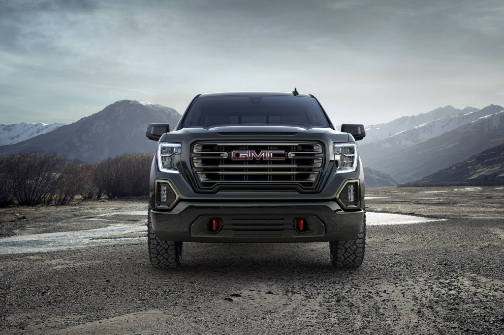 GM Canada - 2019 Sierra AT4 Pickup Trucks