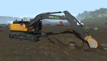 CM Labs introduces groundbreaking excavator simulator training