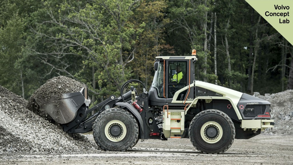 """Testing of Volvo CE electric and autonomous machines begins at world's first """"emission-free"""" quarry"""
