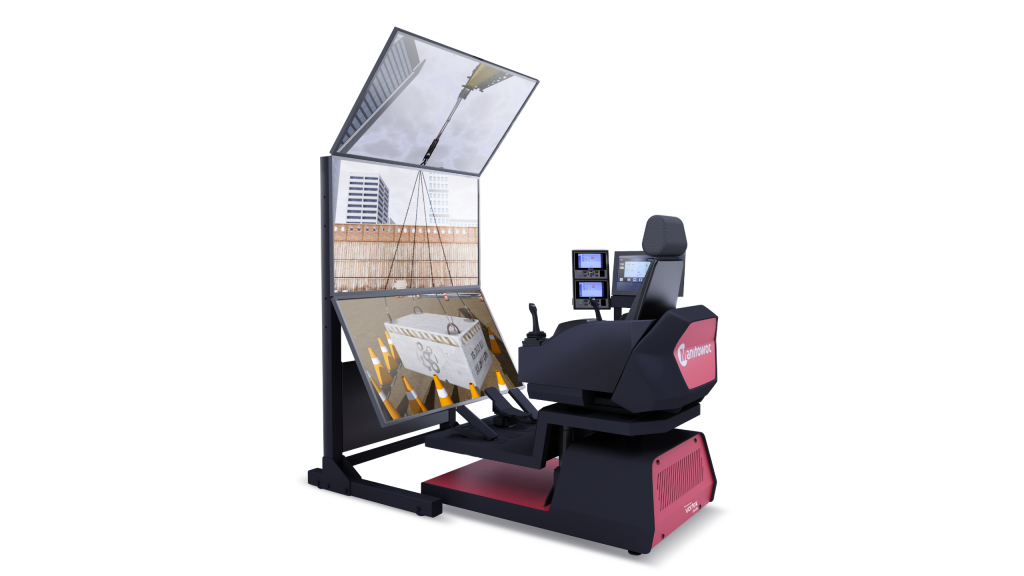 CM Labs' Vortex simulators will be used to train operators in the use of Manitowoc's Crane Control System (CCS).