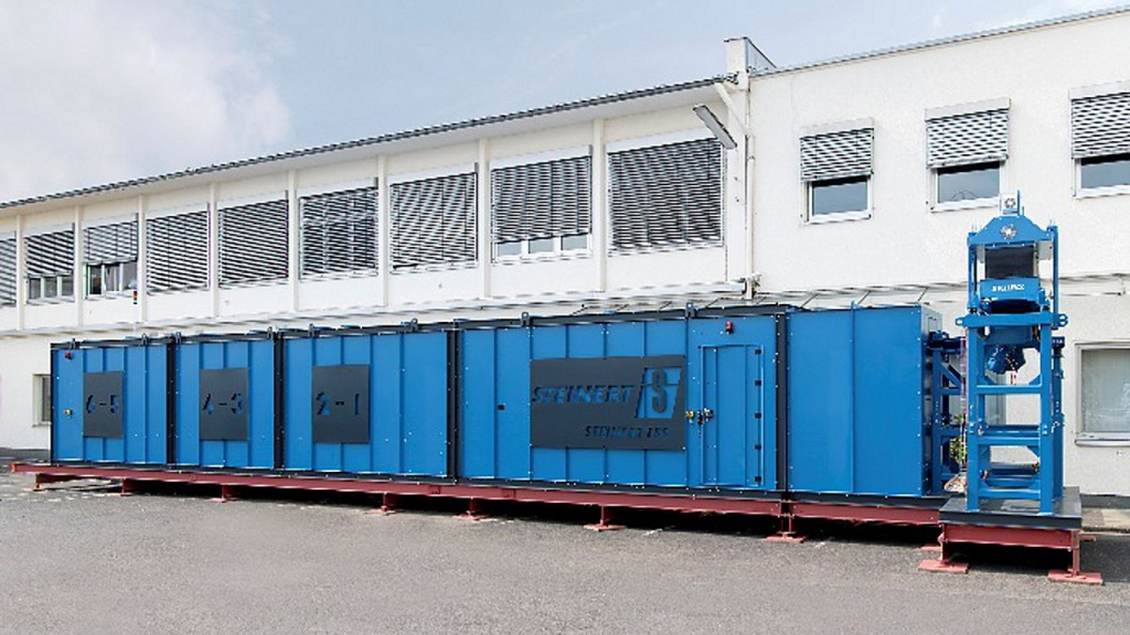 The STEINERT LSS closes the gap in the sorting of aluminium alloys.