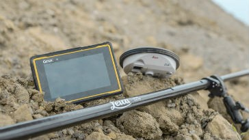 Getac announces Leica Geosystems selection of fully rugged tablet for Zeno solution