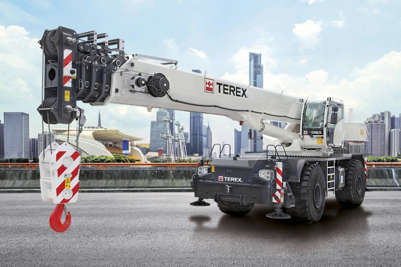 Terex Corporation - RT 90 Rough Terrain Cranes