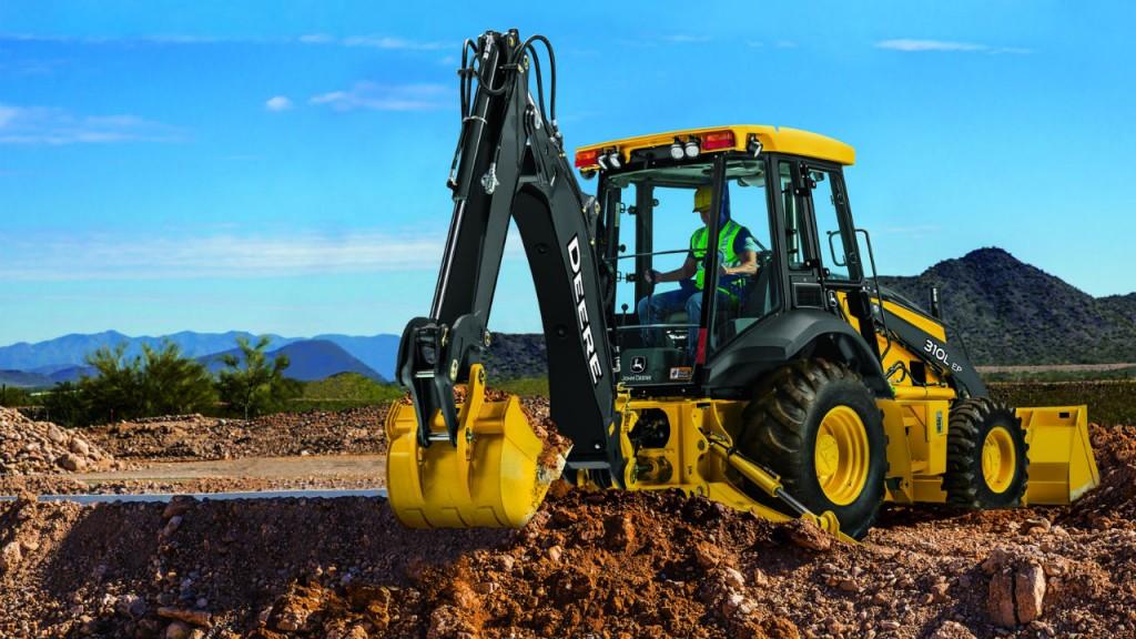 Deere updates 310L EP backhoe and 210L EP Tractor Loader