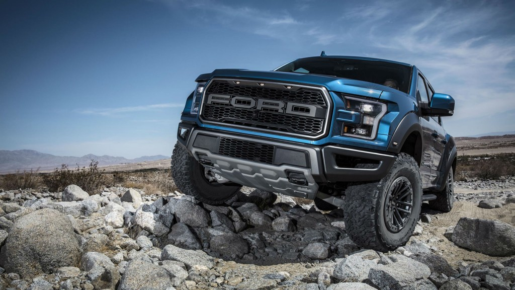 The Ford F-150 Raptor has been upgraded for 2019 with off-road Trail Control.