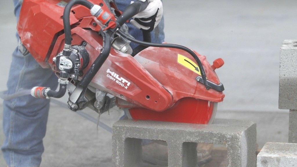 The DSH 600-X is a lightweight but powerful circular saw for concrete, masonry and steel applications.