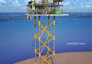 New optimized jacket and foundation design for offshore industry