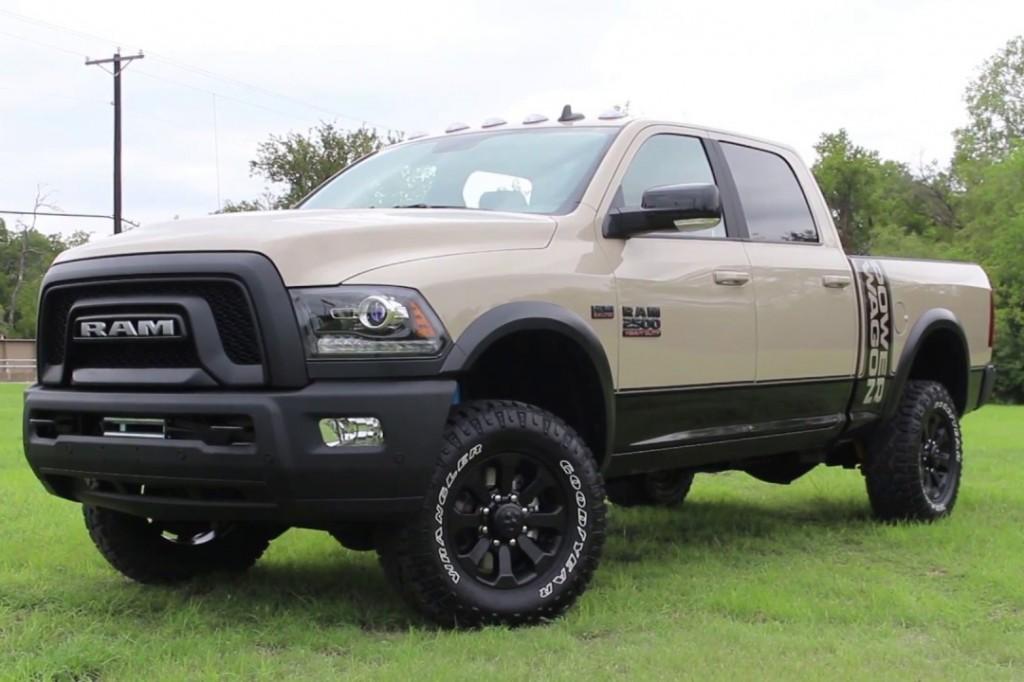 Ram Trucks - 2018 Ram Power Wagon Mojave Sand package Pickup Trucks