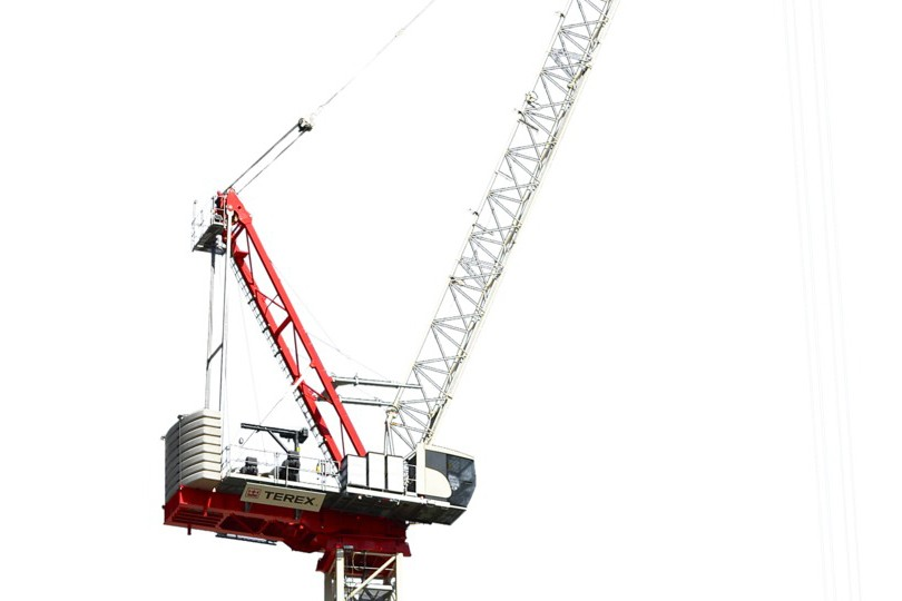Terex Corporation - CTL 272-18 Luffing-Jib Tower Cranes