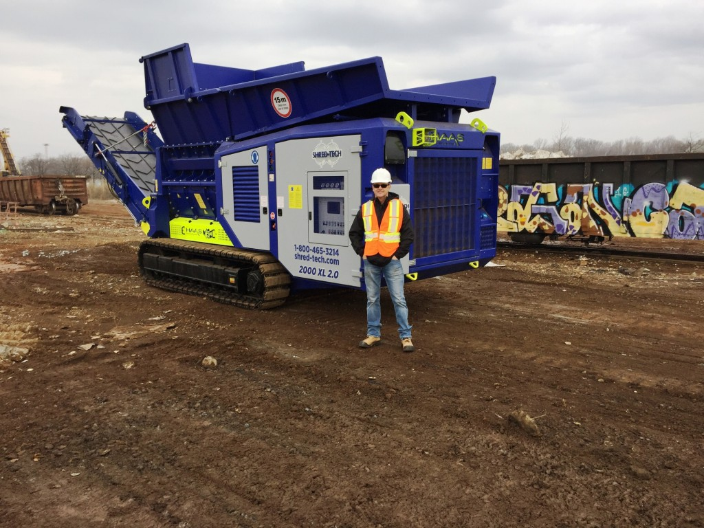 Shred-Tech celebrates 40 years in recycling equipment
