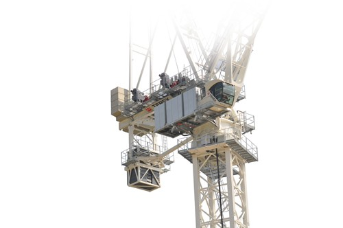 Terex Corporation - CTL 1600-66 Luffing-Jib Tower Cranes