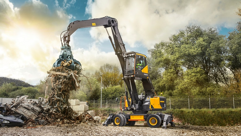 Volvo introduces first dedicated material handler for North America