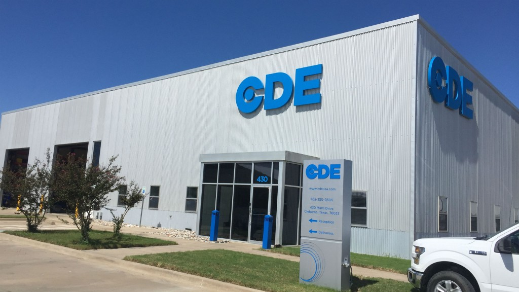 CDE Global will provide sales, service and support for North American operations from its new Cleburne, TX facility.