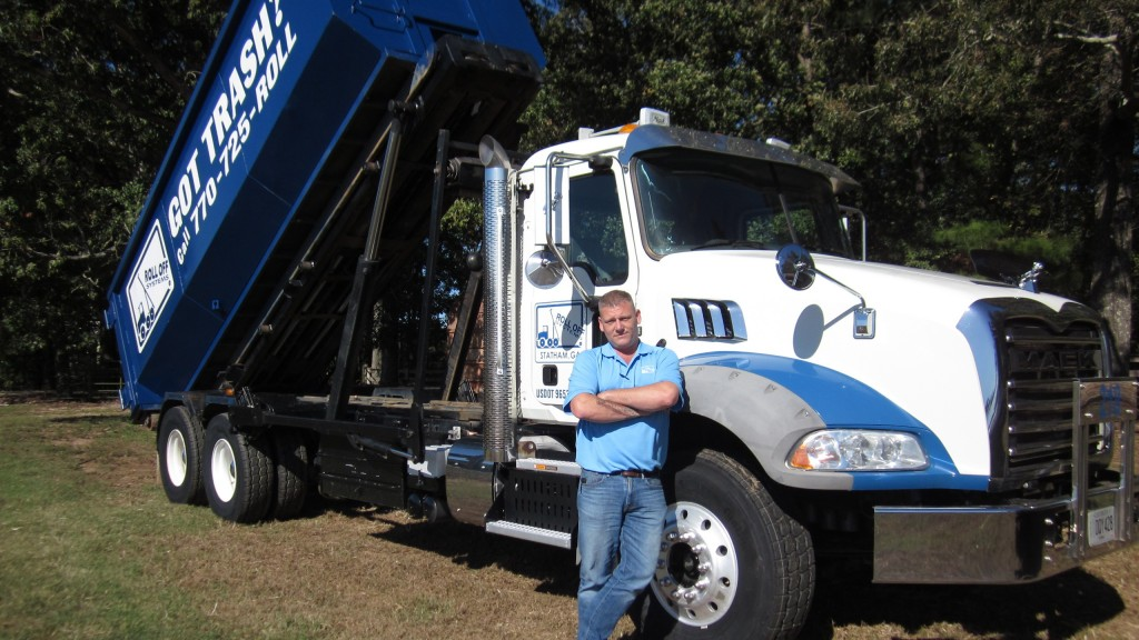 Mike Corkran, fleet maintenance manager for Roll Off Systems, needed a tough tire for servicing urban trash routes with front-loaders, and construction sites and inert landfills with roll-offs.