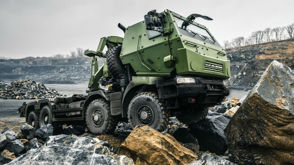 The Canadian Department of National Defence recently marked the official delivery of the first Medium Support Vehicle System (MSVS) Standard Military Pattern (SMP) trucks from Mack Defense during a ceremony at Canadian Forces Base Petawawa, in Petawawa, Ontario.