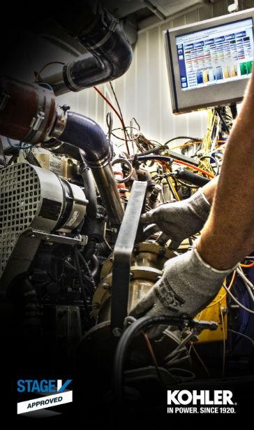 Kohler receives Stage V certification for KDI engines
