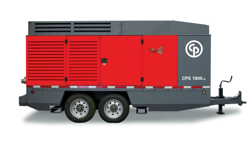 New CPS 1800 portable compressor is largest in Chicago Pneumatic's lineup