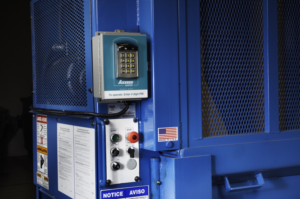 Axxess controls from EPAX designed to improve the safe use of waste compactors and balers