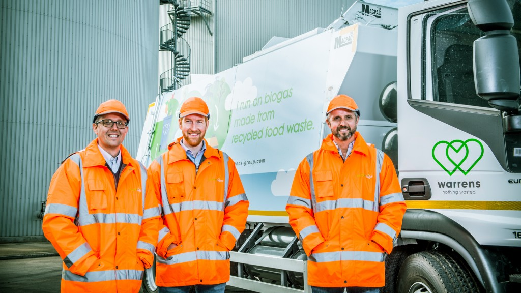 UK waste food-recycling pioneers rolling out fleet of biomethane gas powered trucks