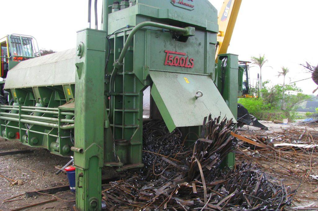 Sierra International Machinery - T550SL Shear Balers