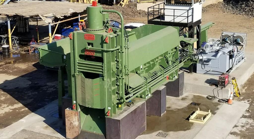 Sierra International Machinery - T900CLS Shear Balers