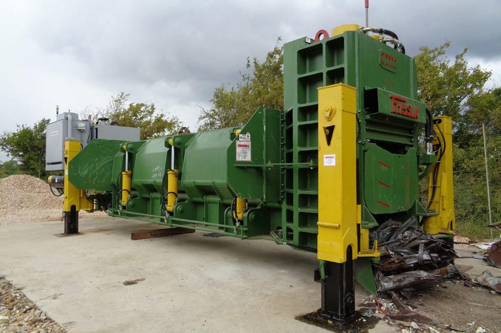 Sierra International Machinery - T715SLK Shear Balers