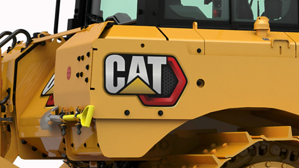 "Cat machines will have new flair as Caterpillar introduces the ""Modern Hex"" trade dress."