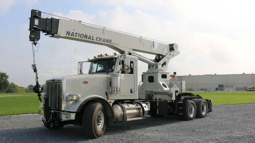 Tractor-mounted version of National Crane NBT30H-2 released