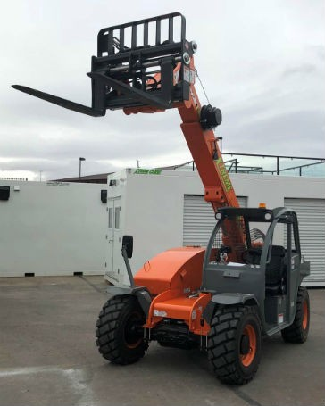 Wika Mobile Control installs qSCALE I2 LMI on Xtreme telehandler