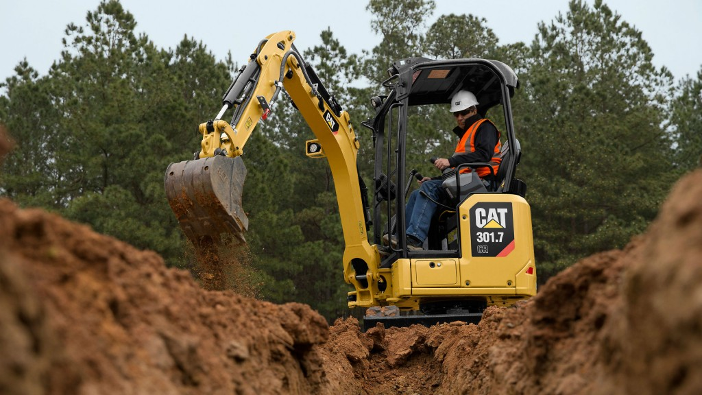 Cat launches four Next Generation mini excavators in one- to two-ton class
