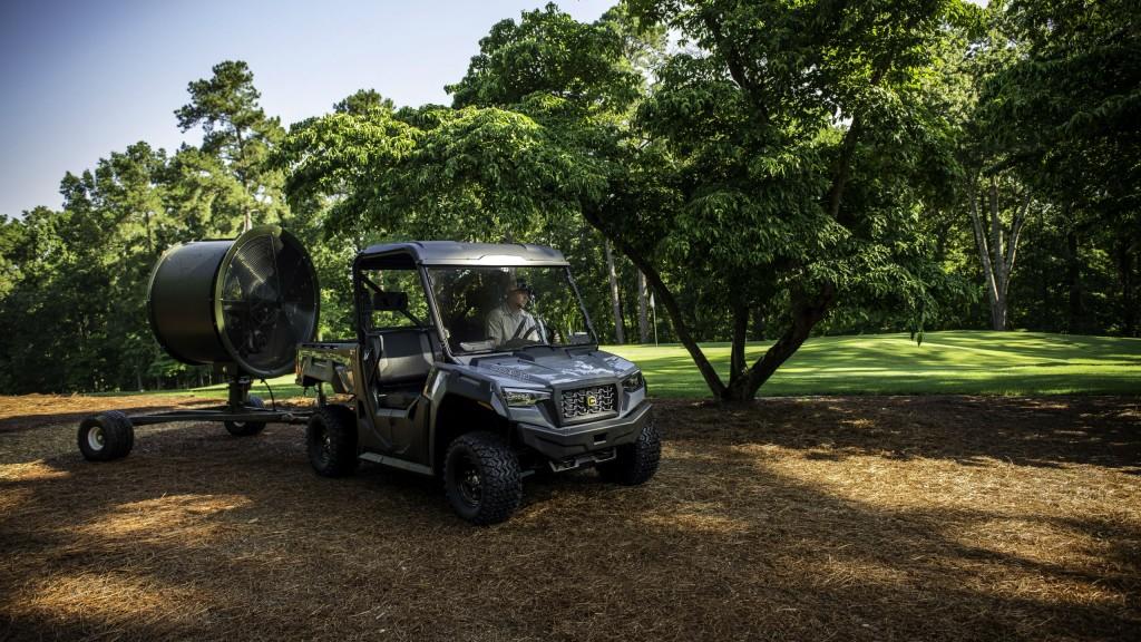 Cushman adds new 4x4 Series to hauler family