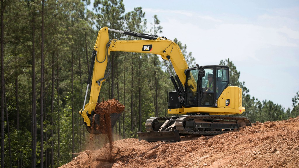Caterpillar offers six new Next Generation compact excavators in the 7- to 10-ton range