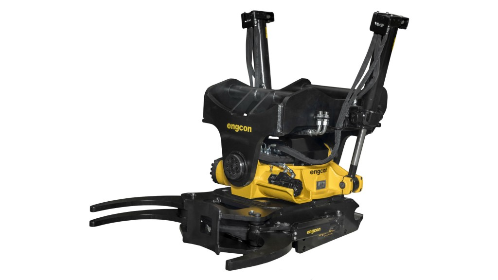 """Engcon introduces """"world's most powerful tiltrotator"""""""