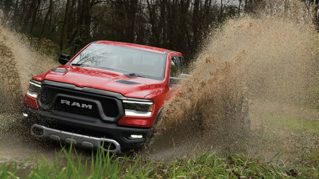 Ram 1500 Rebel (pictured) and Sport models are now available with special technology and premium interior options.