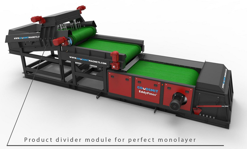 New conveyor feed boosts yield of Eddy Current Separator